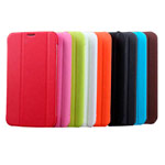 Чехол Yotrix FlipCase для Samsung Galaxy Tab 3 7.0 P3200 (розовый, кожанный)