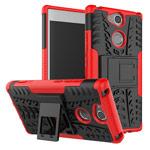 Чехол Yotrix Shockproof case для Sony Xperia XA2 (красный, пластиковый)