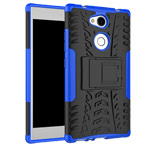 Чехол Yotrix Shockproof case для Sony Xperia L2 (синий, пластиковый)
