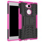 Чехол Yotrix Shockproof case для Sony Xperia L2 (розовый, пластиковый)