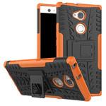 Чехол Yotrix Shockproof case для Sony Xperia XA2 ultra (оранжевый, пластиковый)