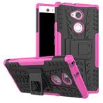 Чехол Yotrix Shockproof case для Sony Xperia XA2 ultra (розовый, пластиковый)