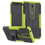Чехол Yotrix Shockproof case для Nokia 6 2018 (зеленый, пластиковый)