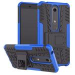 Чехол Yotrix Shockproof case для Nokia 6 2018 (синий, пластиковый)