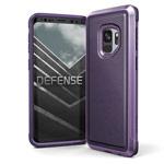 Чехол X-doria Defense Lux для Samsung Galaxy S9 (Purple Nylon, маталлический)
