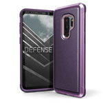 Чехол X-doria Defense Lux для Samsung Galaxy S9 plus (Purple Nylon, маталлический)
