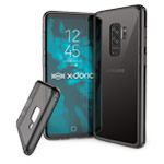 Чехол X-doria ClearVue для Samsung Galaxy S9 plus (серый, пластиковый)