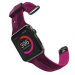 Ремешок для часов X-Doria Action Band для Apple Watch (38 мм, фиолетовый/розовый, силиконовый)