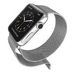 Ремешок для часов X-Doria Mesh Band для Apple Watch (38 мм, серебристый, стальной)