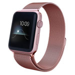 Ремешок для часов X-Doria Mesh Band для Apple Watch (38 мм, розово-золотистый, стальной)