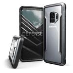 Чехол X-doria Defense Shield для Samsung Galaxy S9 (черный, маталлический)
