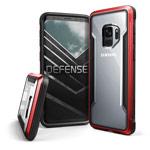 Чехол X-doria Defense Shield для Samsung Galaxy S9 (красный, маталлический)