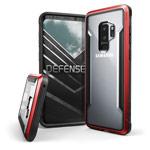 Чехол X-doria Defense Shield для Samsung Galaxy S9 plus (красный, маталлический)