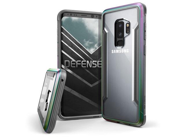 Чехол X-doria Defense Shield для Samsung Galaxy S9 plus (хамелеон, маталлический)