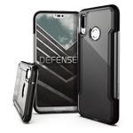 Чехол X-doria Defense Clear для Huawei P20 lite (черный, пластиковый)