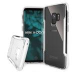 Чехол X-doria Defense Clear для Samsung Galaxy S9 (белый, пластиковый)