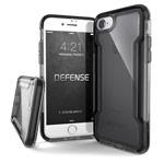 Чехол X-doria Defense Clear для Apple iPhone 8 (черный, пластиковый)