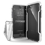Чехол X-doria Defense Clear для Apple iPhone 8 (белый, пластиковый)