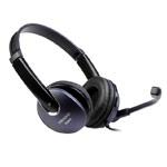 Наушники Microlab Multimedia Headset K290 (черные, пульт/микрофон, гарнитура)