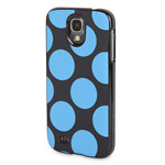 Чехол X-doria Dash Icon Case для Samsung Galaxy S4 i9500 (Blue Dot, матерчатый)