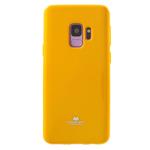 Чехол Mercury Goospery Jelly Case для Samsung Galaxy S9 (желтый, гелевый)