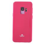 Чехол Mercury Goospery Jelly Case для Samsung Galaxy S9 (малиновый, гелевый)
