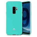 Чехол Mercury Goospery Jelly Case для Samsung Galaxy S9 plus (бирюзовый, гелевый)
