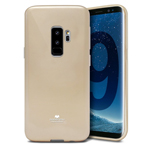 Чехол Mercury Goospery Jelly Case для Samsung Galaxy S9 plus (золотистый, гелевый)