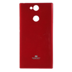 Чехол Mercury Goospery Jelly Case для Sony Xperia XA2 (красный, гелевый)