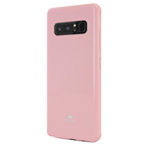 Чехол Mercury Goospery Jelly Case для Samsung Galaxy Note 8 (розовый, гелевый)