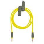 AUX-кабель X-doria 3' Straight Aux Cable (желтый, разъемы 3.5 мм)