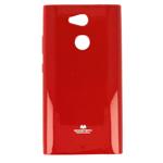 Чехол Mercury Goospery Jelly Case для Sony Xperia L2 (красный, гелевый)
