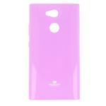 Чехол Mercury Goospery Jelly Case для Sony Xperia L2 (розовый, гелевый)