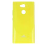Чехол Mercury Goospery Jelly Case для Sony Xperia L2 (желтый, гелевый)