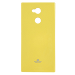 Чехол Mercury Goospery Jelly Case для Sony Xperia XA2 ultra (желтый, гелевый)