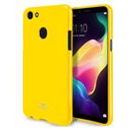 Чехол Mercury Goospery Jelly Case для OPPO F5 (желтый, гелевый)
