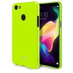 Чехол Mercury Goospery Jelly Case для OPPO F5 (зеленый, гелевый)