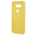 Чехол Mercury Goospery Jelly Case для LG V30 (желтый, гелевый)