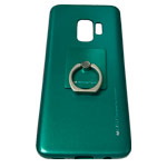 Чехол Mercury Goospery i-Jelly Ring Case для Samsung Galaxy S9 (зеленый, гелевый)