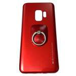Чехол Mercury Goospery i-Jelly Ring Case для Samsung Galaxy S9 (красный, гелевый)