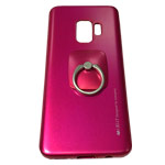 Чехол Mercury Goospery i-Jelly Ring Case для Samsung Galaxy S9 (малиновый, гелевый)