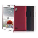 Чехол Jekod Hard case для LG Optimus L9 P765 (коричневый, пластиковый)