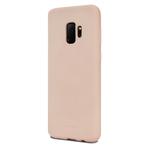 Чехол Mercury Goospery Soft Feeling для Samsung Galaxy S9 (бежевый, силиконовый)
