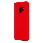 Чехол Mercury Goospery Soft Feeling для Samsung Galaxy S9 (красный, силиконовый)