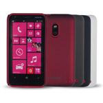 Чехол Jekod Hard case для Nokia Lumia 620 (черный, пластиковый)