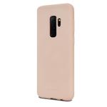 Чехол Mercury Goospery Soft Feeling для Samsung Galaxy S9 plus (бежевый, силиконовый)