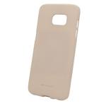 Чехол Mercury Goospery Soft Feeling для Samsung Galaxy S7 (бежевый, силиконовый)