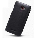 Чехол Nillkin Side leather case для HTC Butterfly/Droid DNA X920e (черный, кожанный)