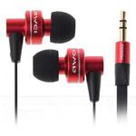 Наушники Awei Premium (с микрофоном) (16-24000 Гц, 10 мм) (красные)