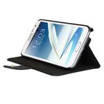 Чехол Kuboq KuStand Case для Samsung Galaxy Note 2 N7100 (черный, кожанный)